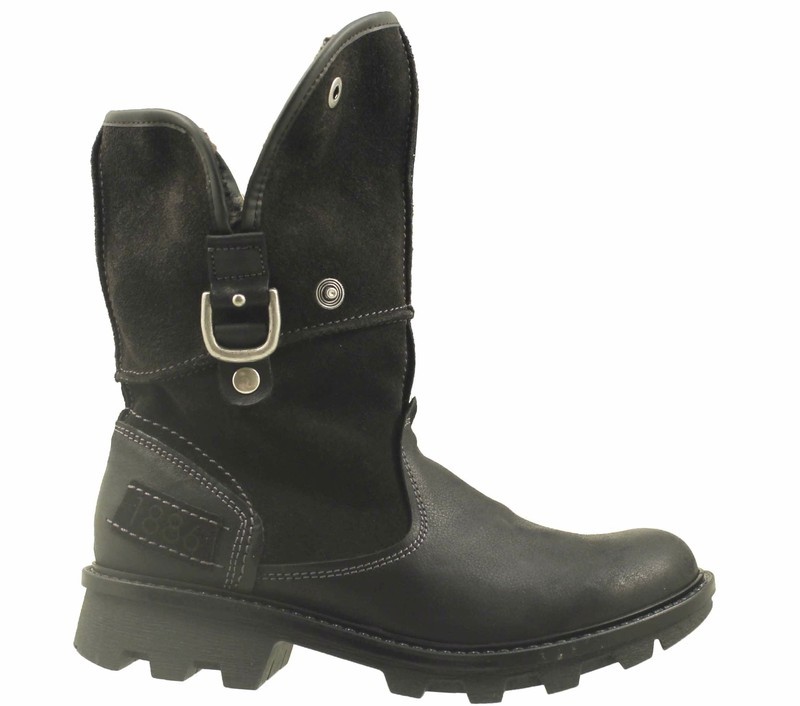 chaussure pour semelle orthop dique femme boot al69511 podoline. Black Bedroom Furniture Sets. Home Design Ideas